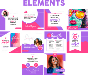 Template Canva Elements