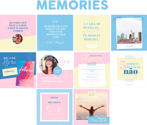 Template Canva Memories