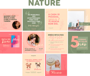 Template Canva Nature