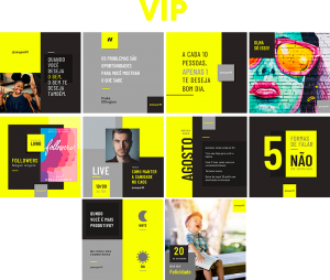 Template Canva VIP